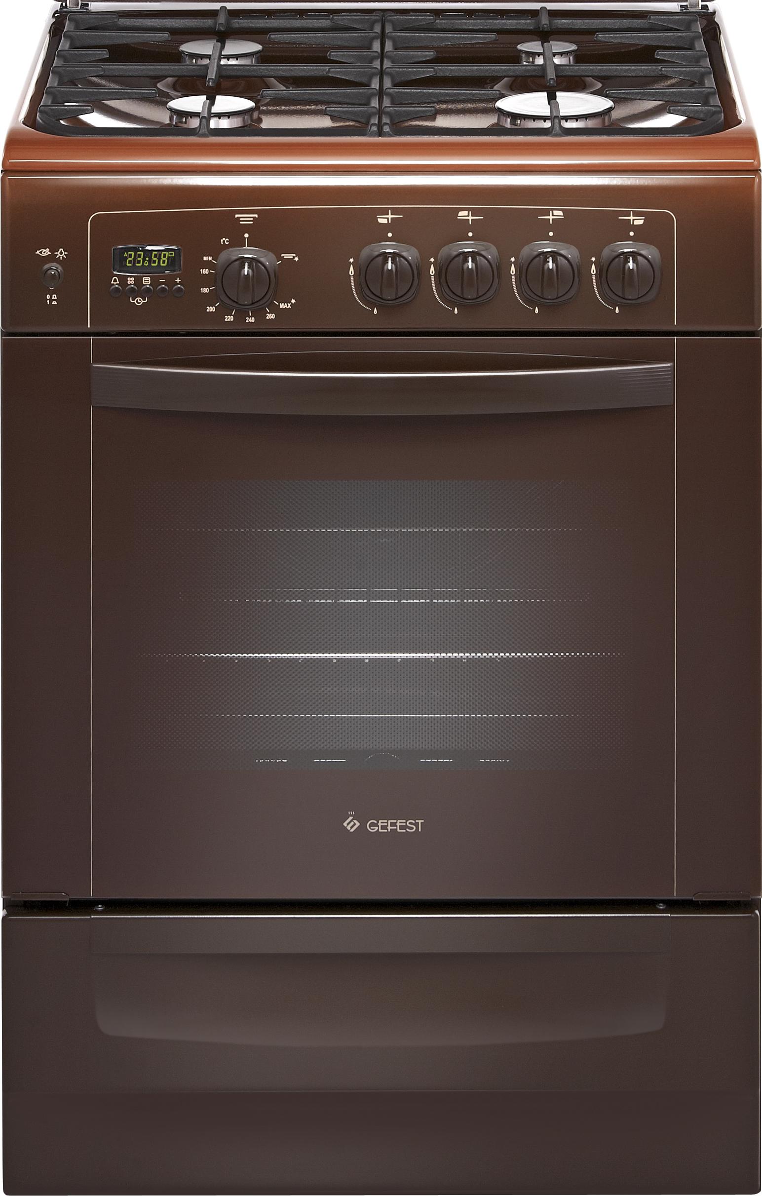 газовая плита 60х60 с газовой духовкой